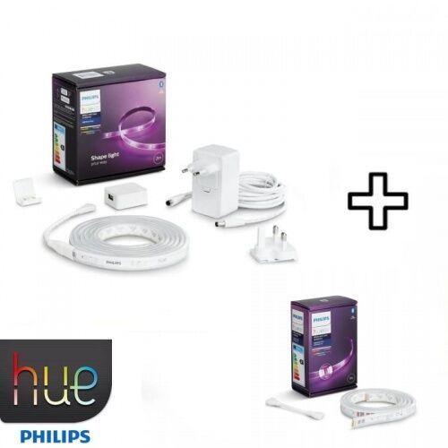 Pakiet promocyjny taśma pasek led rgb 2m + 1m marki Philips hue