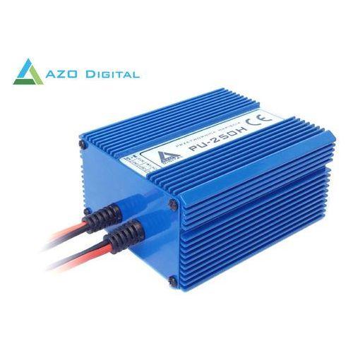Przetwornica napięcia 10÷20 VDC / 24 VDC PU-250H 24V 250W Wodoszczelna - pełna izolacja IP67