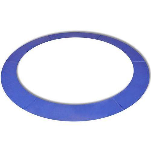 Osłona sprężyn PE do okrągłych trampolin 12 ft/3,66 m, niebieska