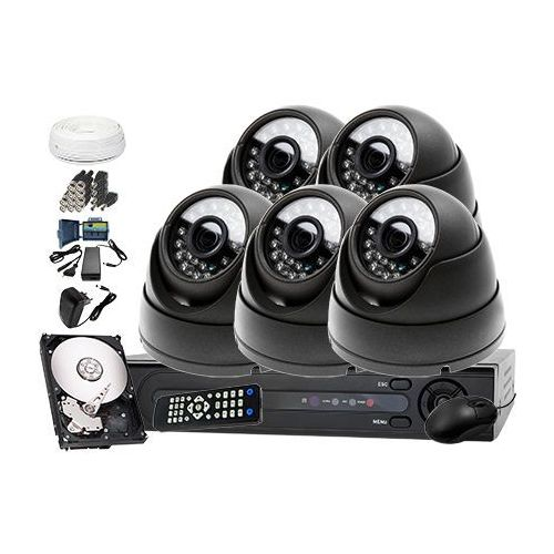 Zestaw do monitoringu: Rejestrator LV-XVR84, 5 x Kamera LV-AL25HD+ dysk 1TB + akcesoria