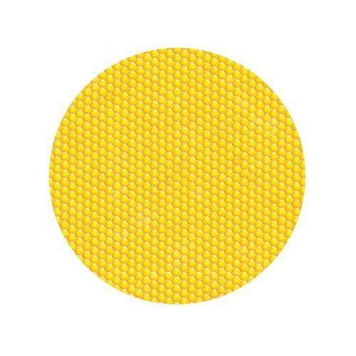 Dekoracyjny opłatek tortowy pszczółka plaster miodu - 20 cm marki Smakop