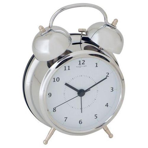 Budzik wake up 12 cm silver marki Nextime
