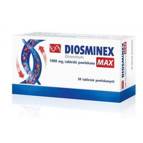 DIOSMINEX MAX 1000mg x 60 tabletek - 60 tabletek