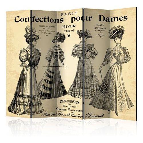 Artgeist Parawan 5-częściowy - confections pour dames ii [room dividers]