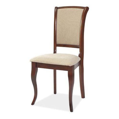 Krzesło drewniane SIGNAL MN-SC czereśnia antyczna