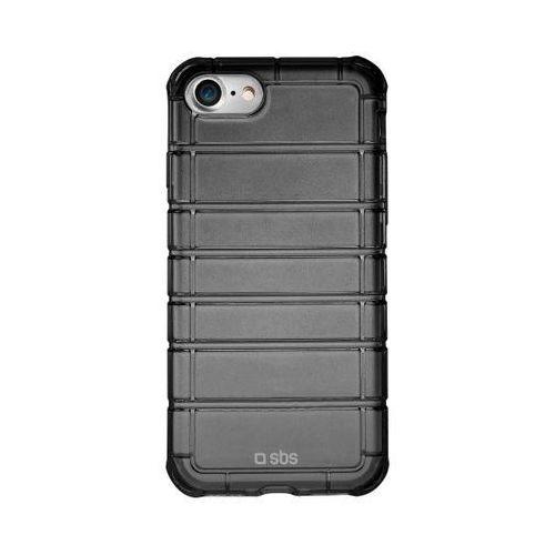SBS Air Impact Cover TEIMPACTIP7K iPhone 7 (przezroczysty-czarny) - produkt w magazynie - szybka wysyłka!, kolor czarny