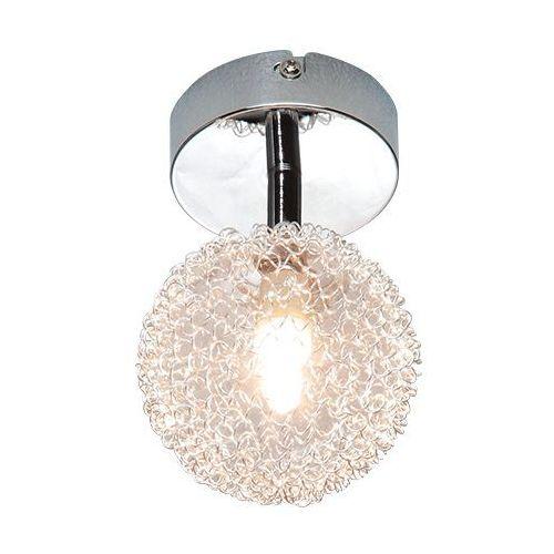 Trio rl wire r81321106 plafon lampa sufitowa 1x28w g9 chrom / transparentny (4017807214475)