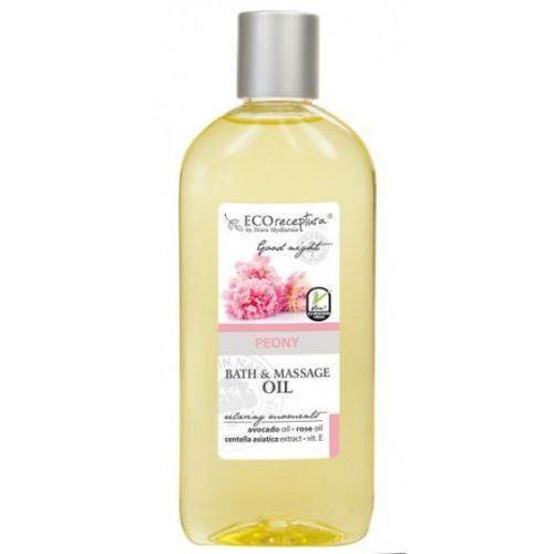 Eco receptura peony - olejek do kąpieli i masażu 300 ml marki Stara mydlarnia