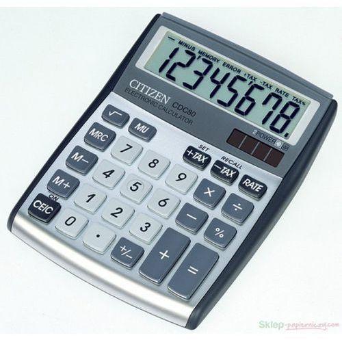 Citizen Kalkulator biurowy CDC-80WB0 (4562195133025)