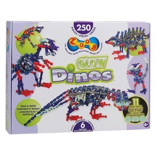 Zoob Glow Dinos 25 elementów