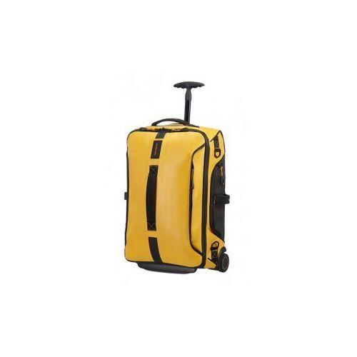 SAMSONITE torba miękka kołach 67 cm kolekcja PARADIVER LIGHT model Duffle/WH materiał poliuretan/polyester/teflon