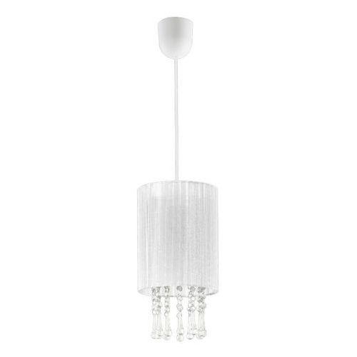 Lampa wisząca Wenecja 1S biała (5902622118468)