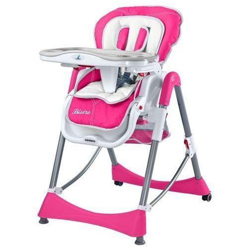 Krzesełko do karmienia bistro magenta marki Caretero