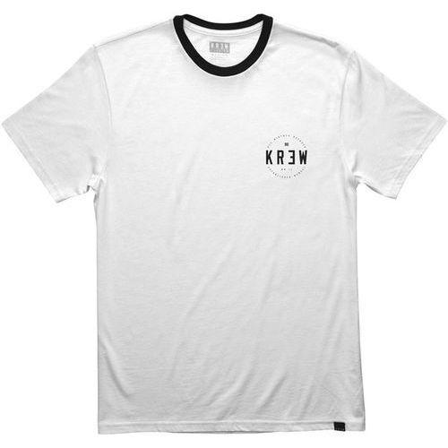 koszulka KREW - Lock Seal S/S Rngr White-Black (102) rozmiar: M, 1 rozmiar