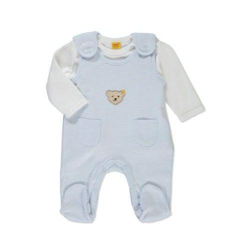 Steiff boys baby śpioszki 2-częściowe baby blue (4048043415593)