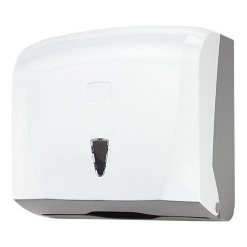 Podajnik na ręczniki papierowe w składce zz pojemnik na ręczniki, dozownik do ręczników marki Linea