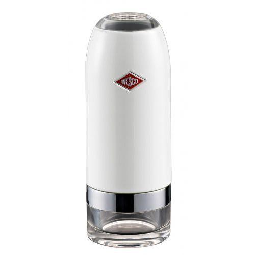 Wesco Młynek sól/pieprz biały 16 cm, 32277401