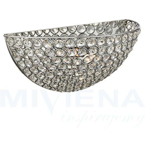 Chantilly kinkiet chrom kryształowe szkło marki Searchlight