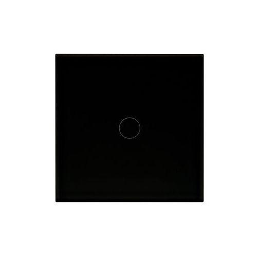Włącznik pojedynczy ROSA Czarny POLMARK, RT-1Q.CZ