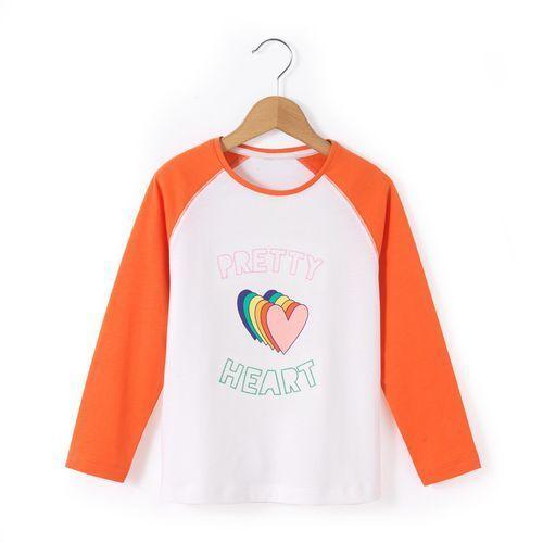 Abcd'r T-shirt z długimi rękawami i nadrukiem serca 3-12 lat