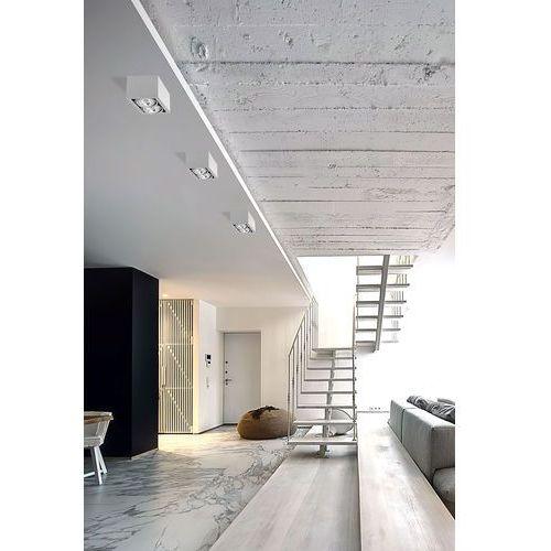 Nowodvorski Plafon box 9472 ii lampa sufitowa oprawa spot 2x75w gu10 es111 biały (5903139947299)