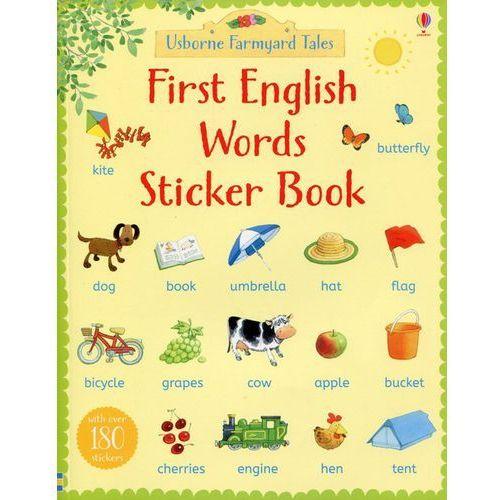 First English Words Sticker Book - Heather Amery (42 str.)