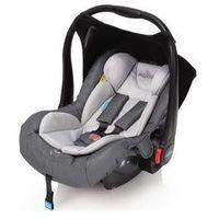 Fotelik samochodowy leo 0-13kg (szary) marki Baby design