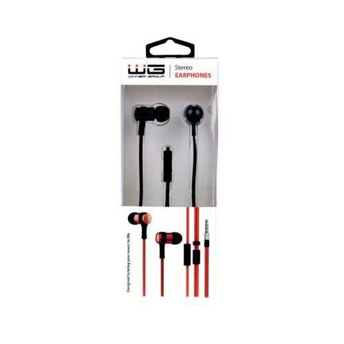 Słuchawki WG HF Stereo New 3.5 Jack Czarny
