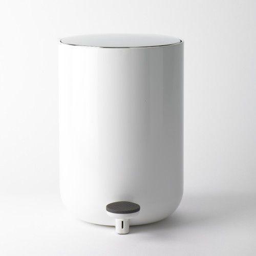 Menu Kosz łazienkowy, 7 l, biały -