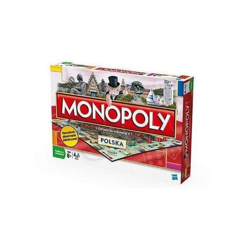 Gra HASBRO Monopoly Polska + DARMOWA DOSTAWA! - sprawdź w wybranym sklepie