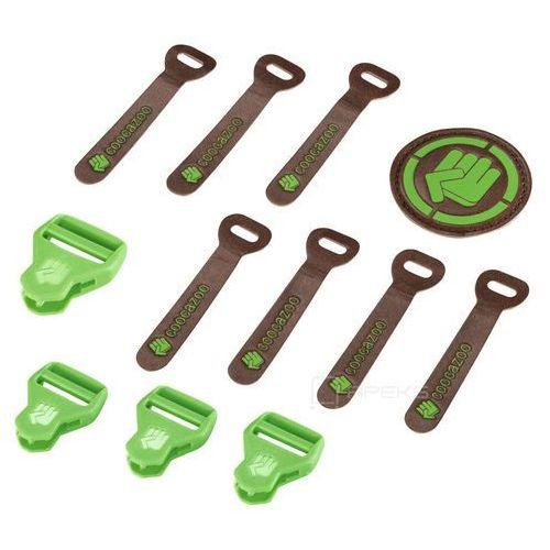 Coocazoo MatchPatch Leather Irish Green Melange zestaw elementów wymiennych - zielony ||brązowy (4047443342256)