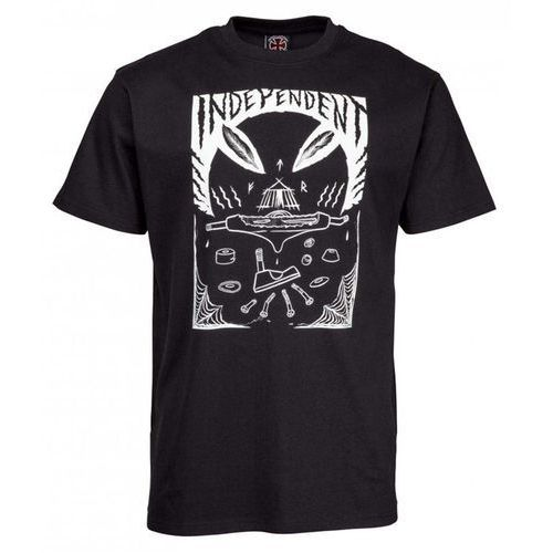 koszulka INDEPENDENT - Hitz Ritual Decomissioning Tee Black (BLACK) rozmiar: M, kolor czarny