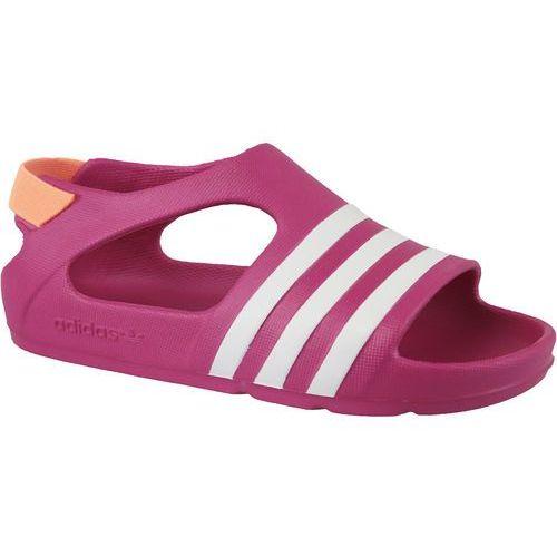 Adidas adilette play i b25030 23 różowe (4054072918325)