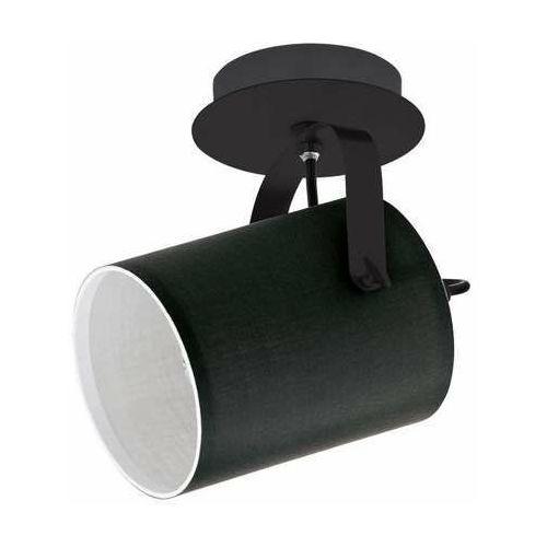Eglo Villabate 33645 lampa sufitowa spot 1x10W E27 czarny/biały (9002759336455)