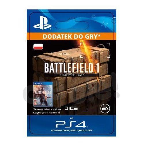 Sony Battlefield 1 - 3 pakiety bojowe [kod aktywacyjny] (0000006200184)