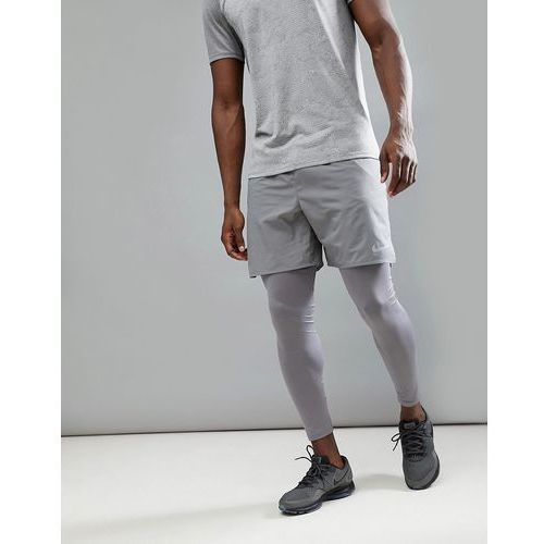 flex distance 7 inch shorts in grey 892911-036 - grey, Nike running