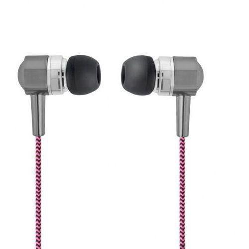 Zestaw słuchawkowy Forever SE-120 różowo-czarny
