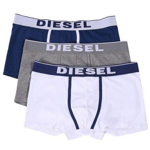 Diesel zestaw bokserek męskich Damien 3 szt. M wielokolorowe, bawełna