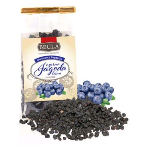 Czarna jagoda leśna suszona - ekologiczna 50g * marki Awb becla
