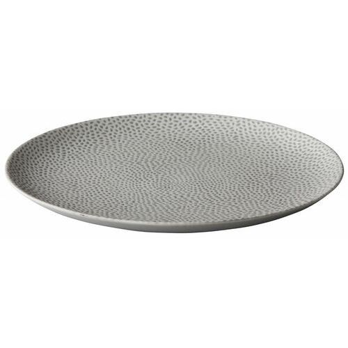 Talerz płytki honeycomb beżowy | śr. 210 lub 275 mm marki Fine dine