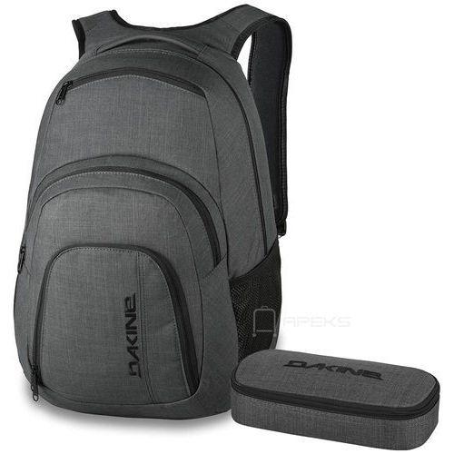 """Dakine Campus 33L plecak miejski na laptopa 15"""" + piórnik GRATIS / Carbon - Carbon"""