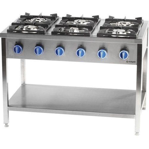 Stalgast Kuchnia gastronomiczna gazowa 6-palnikowa