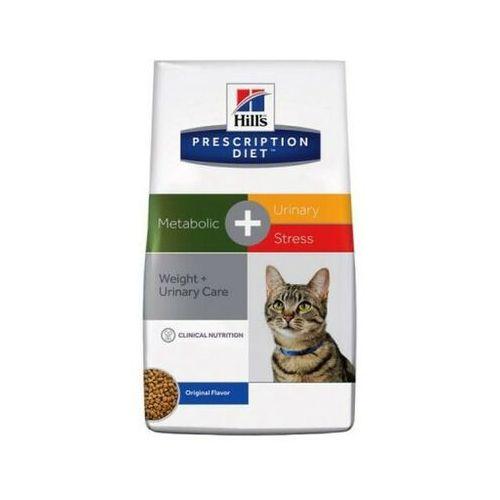 HILL'S Prescription Diet Feline Metabolic + Urinary 4kg - DARMOWA DOSTAWA OD 95 ZŁ!