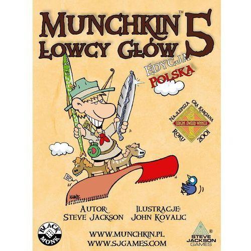 Black monk Munchkin 5 łowcy głów (5901549119077)