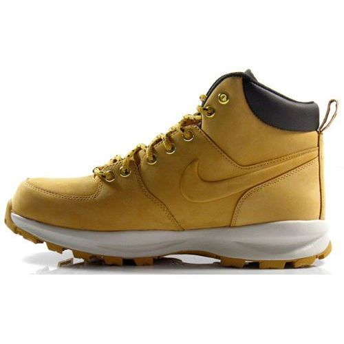 Nike Buty zimowe  manoa leather - 454350-700 - piaskowy