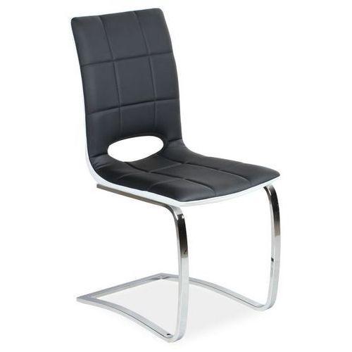 Krzesło na płozach z otworem H431