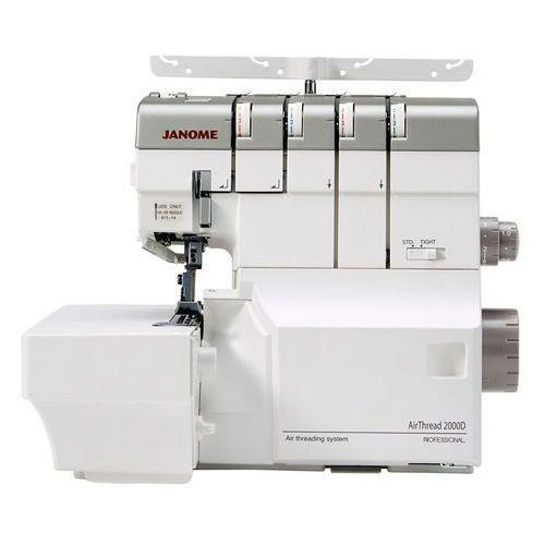 Overlock Janome Air Thread 2000D Professional - 6 lat gwarancji - 2,3,4 - nitkowy - pneumatyczne nawlekanie