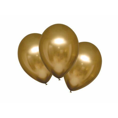 Amscan Balony lateksowe satynowe złote - 27,5 cm - 6 szt.