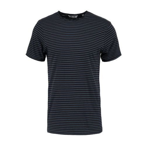 onsalbert stripe slim fit tshirt z nadrukiem black/stripes orion blue, Only & sons, S-XXL