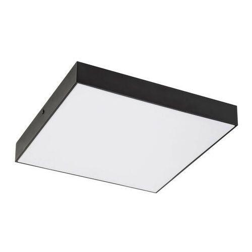 Plafoniera LAMPA łazienkowa TARTU 7900 Rabalux kwadratowa OPRAWA plafon LED 24W 2800K - 6000K sufitowy metalowy IP44 czarny (5998250379005)